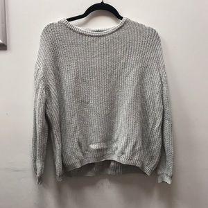 Brandy Melville gray pullover